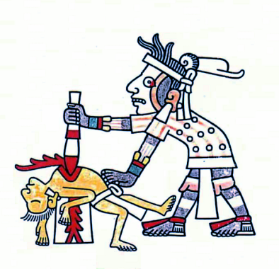 Human-Sacrific-in-Mayan-Codex