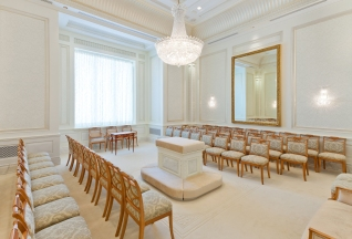 Brigham City Temple Sealing Room