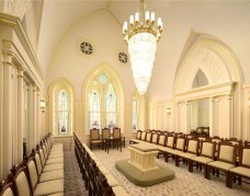 Provo City Center Temple sealing room