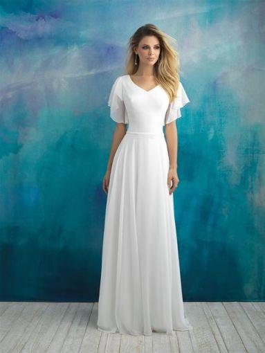 "Allure ""Wedding Dress"" $800"